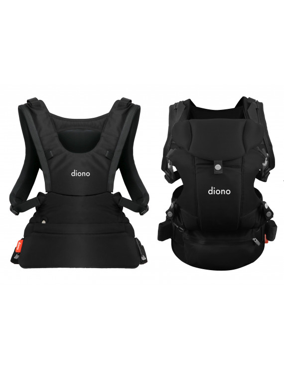 Diono Carus Essentials 3-in-1 Carrying System, Black