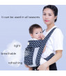 Lightweight All Carry Positions 3 in 1, Ergonomic All Season Baby & Child Infant Toddler Newborn Carrier Backpack Front Back Wrap Rider Sling Soft & Breathable Cotton