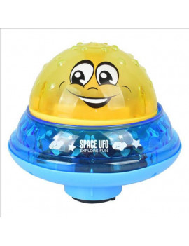 (with Magnetic) Electric Induction Rotating Light Music Spray Water Ball Baby Bath Toys for Baby Toddler Infant Kids