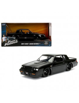 1 isto 24 Doms Buick Grand National Fast & Furious Movie Diecast Model Car, Black