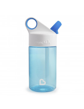 Munchkin  Blue 12-ounce Sports Reusable Water Bottle