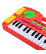 31 Keys Synthesizer Electronic Keyboard Piano Musical Toy for Children - Red