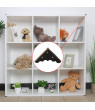 Home Box Corner Protectors Vintage Bronze Tone Triangle Frame Table Box Furniture Protectors 20pcs