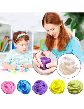Bluelans Soft Slime Clay Fluffy Foam Handmade Stress Relief Educational Toy for Children