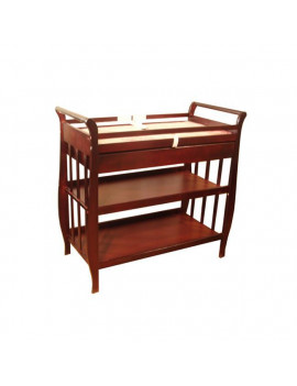 AFG Athena Nadia Changing Table - Cherry - 3353C