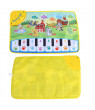 FAGINEY Musical Mats Keyboard Piano Play Mat Floor Music Mat Animal Blanket Carpet Playmat Early Educational Toys for Kids Baby Toddlers Boy Girl (23.62 x 15.35 in)