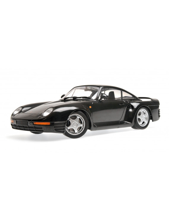 1987 Porsche 959 Grey Metallic Limited Edition to 600 pieces Worldwide 1/18 Diecast Model Car by Minichamps