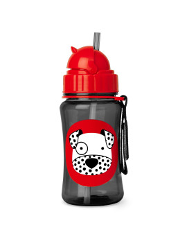 Skip Hop Zoo Straw Bottle, Dalmatian