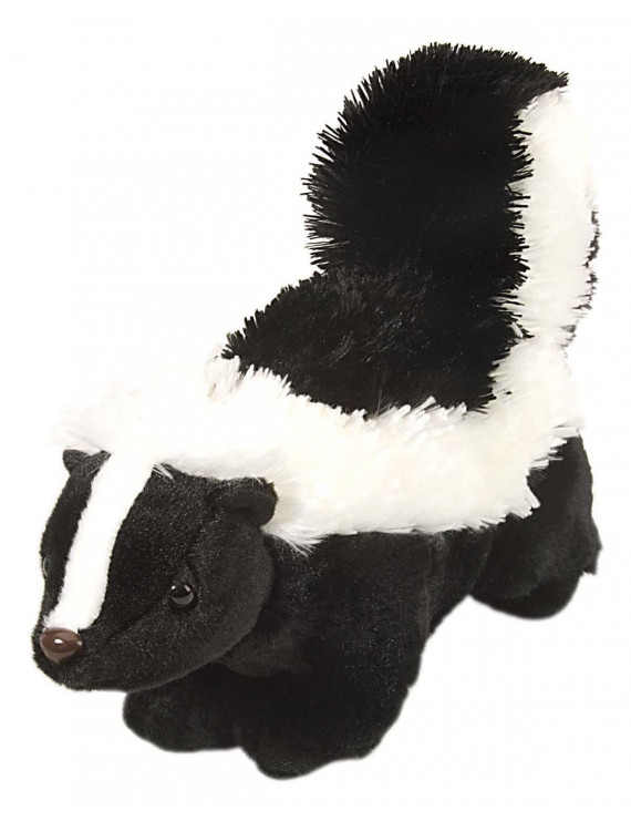 Cuddlekins Skunk Plush Stuffed Animal by Wild Republic, Kid Gifts, Zoo Animals, 12 Inches