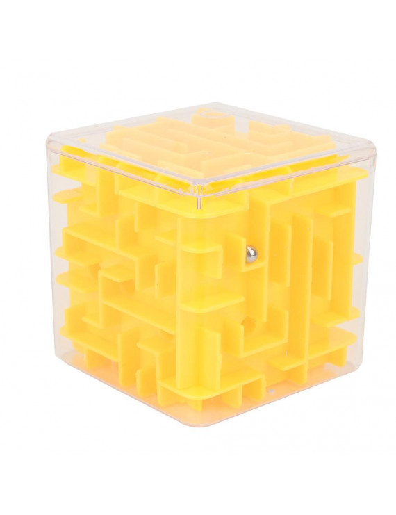 Tebru Plastic Maze Toy, Cubic Maze Toy Kids Plastic Puzzle Game Early Education Children Wonderful Gifts, Educational Maze Toy