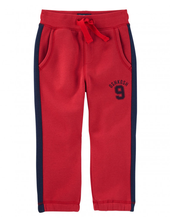 OshKosh B'gosh Baby Boys' Logo Fleece Pants, 24 Months