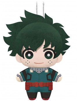 "1695 My Hero Academia Izuku Midoriya Plush Dangler, 6"", Multicolor, Official product by Little Buddy By Little Buddy"