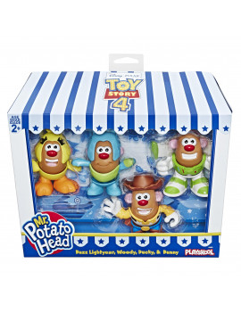 Disney Pixar Toy Story 4 Mr. Potato Head Mini 4 Pack