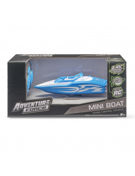 Adventure Force Radio-Controlled Mini Boat, Blue