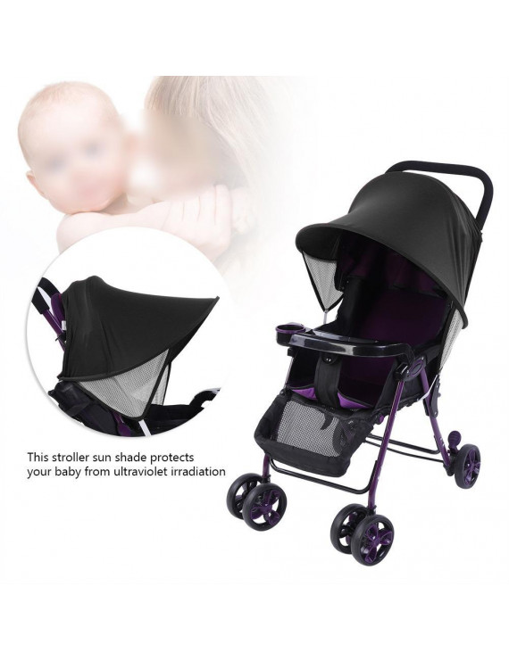 Mgaxyff Baby Child Stroller Pushchair Sun Shade Summer UV Protection Buggy Canopy Cover, Buggy Sun Cover, Pushchair Sun Cover