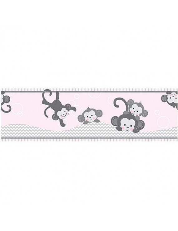 Bedtime Originals Wallpaper Border, Pinkie