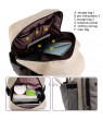 Changing Bag Backpack, Large Baby Nappy Back Pack Diaper Bag with Changing Mat & Insulated Pockets for Mom & Dad