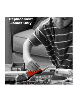 Replacement James for Fisher-Price Thomas and Friends Wooden Railway BDG57 - Includes 1 Red Train Car