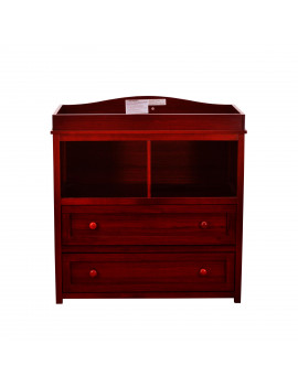 Athena Leila 2-Drawer Changer Dresser, Cherry