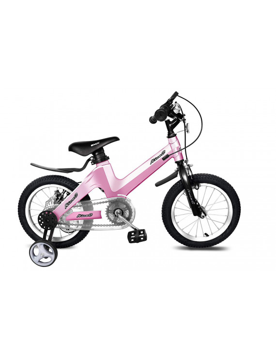 "NiceC 16"" BMX Kids Bike, Pink"