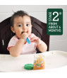 (12 Pouches) Beech-Nut Veggies Baby Food Pouch, Stage 2, Carrot, Zucchini & Pear Blend, 3.5 oz