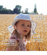Girls Breathable Sun-Hat 50 UPF, Size Adjustable, Stay-on Tie (XL: 5 - 12Y, Lavender)