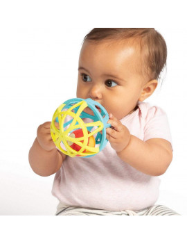 Manhattan Toy Jazzy Ball Lights and Sounds Baby Toy and Rattle