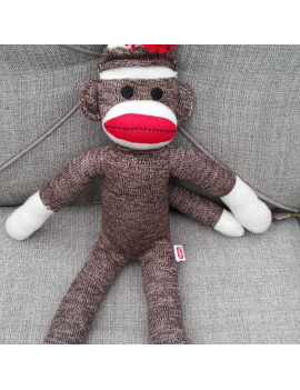 Schylling Sock Monkey - NEW