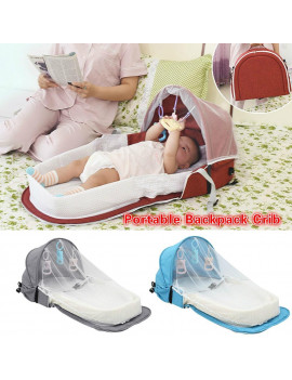 2020 New Portable Foldable Baby Bed Baby Backpack Baby Outdoor Travel Bed