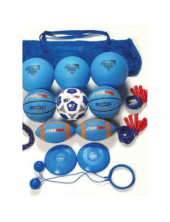 Sportime Recess Pack, Grade 5, Blue