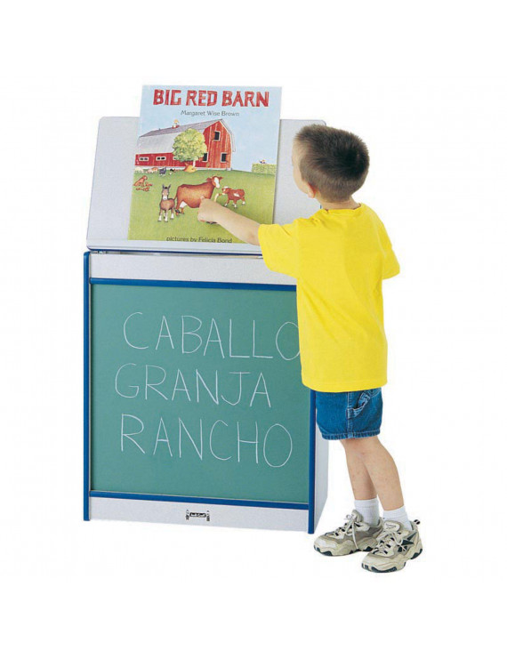 Jonti-Craft Rainbow Accents Big Book Childrens Easel