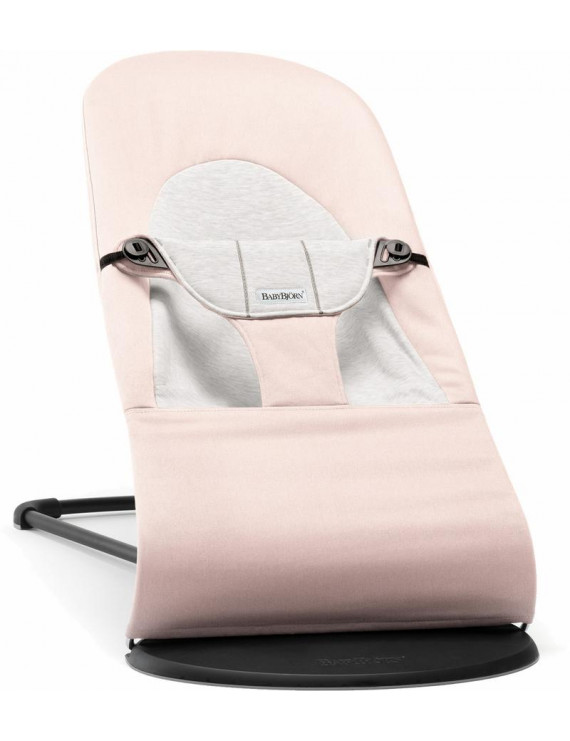 Baby Bjorn 005089US Bouncer Balance Soft Light Pink And Grey