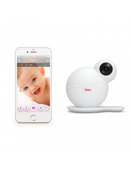 iBaby M6S, Wi-Fi Video Baby Monitor, iOS & Android