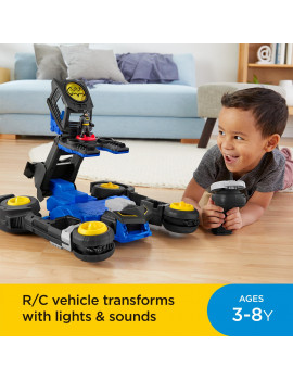 Imaginext DC Super Friends Transforming Batmobile R/C Vehicle
