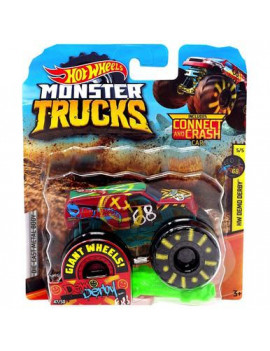 Demo Derby Giant Wheels Monster Trucks with Connect & Crash Car