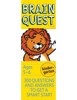 Brain Quest Decks: Brain Quest Kindergarten, Revised 4th Edition: 300 Questions and Answers to Get a Smart Start (Other)
