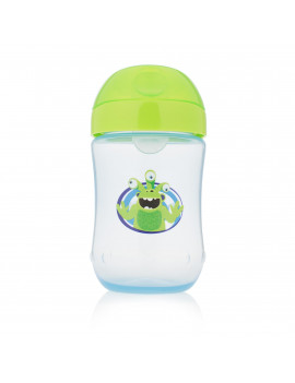 Dr. Brown's Soft-Spout Toddler Cup, Monster Blue, 9 Ounce, Single