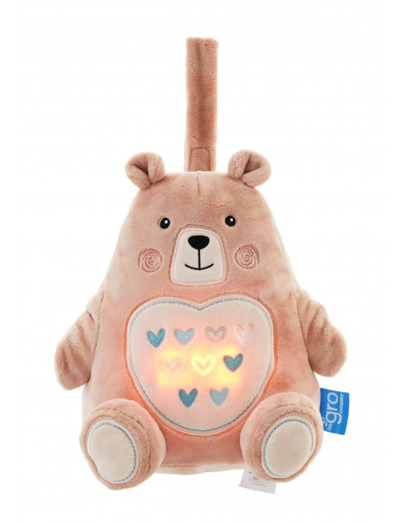 Tommee Tippee Bennie the Bear Light and Sound Sleep Aid - Rechargeable USB