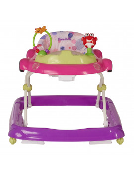 Dream On Me On-The-Go Activity Walker in Pink