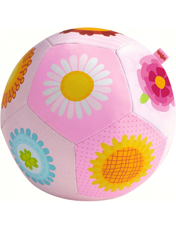 "HABA Baby Ball Flower Magic 5.5"" for Ages 6 Months and Up"