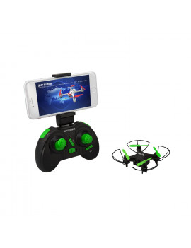 Sky Rider Mini Glow Pro Quadcopter Drone with Wi-Fi Camera, DRW417B