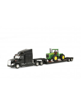 Peterbilt 579 & Lowboy with John Deere 4-Wheel Drive Tractor 1:32 Scale