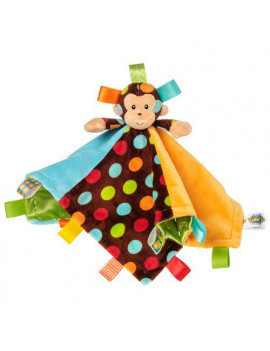 """Mary Meyer Taggies Dazzle Dots Character Blanket, Monkey"""