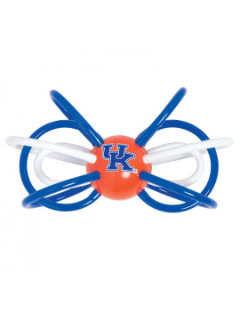 Baby Fanatic Kentucky Wildcats Winkel Rattle and Teether Officially Licensed NCAA Baby Toy