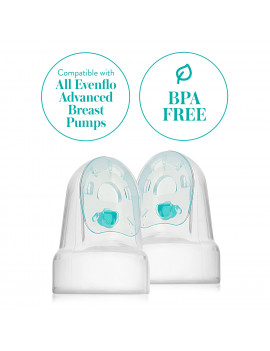 Evenflo Breast Pump Replacement Membranes and Valves - 2 of each