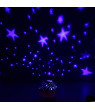 Night Light Projector, LED Star Moon Lamp Rotation Sky Projector Color Changing 360 Degree Rotating Baby Room