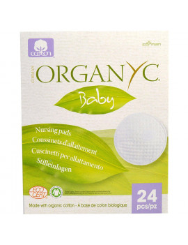 , Baby, Nursing Pads, 24 Pieces - 2pc By Organyc