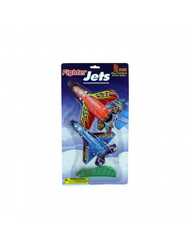 Bulk Buys KT222-24 Play Fighter Jets - Pack of 24
