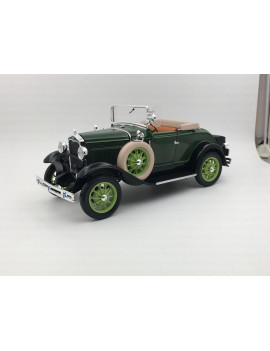 1931 Ford Model A Roadster Brewster Green 1/18 Diecast Model Car by Sunstar