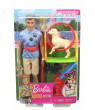 Barbie Ken Dog Trainer Doll with Accessories and 2 Dogs